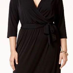 Black long sleeve Maxi Dress - Size 1X